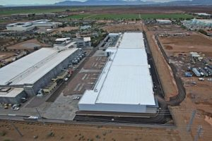 Commercial Roofing Phoenix Aerial view of CyrusOne Data Center