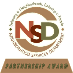 professional roofing services phoenix Neighborhood services department partnership award